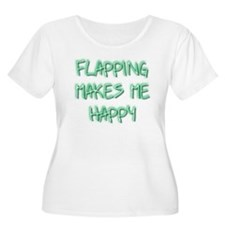 Flapping Makes Me Happy T-Shirt