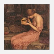 Psyche by Waterhouse Tile Coaster