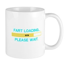 Fart loading... please wait. Mug
