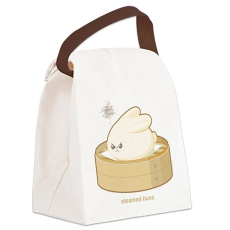 Steamed Buns Canvas Lunch Bag