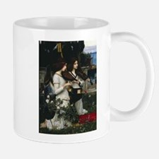 Angel detail from St Cecilia by Waterhouse Mug