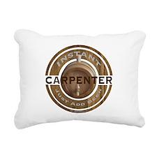 Instant Carpenter Beer Rectangular Canvas Pillow