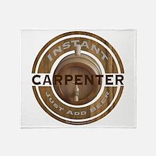Instant Carpenter Beer Throw Blanket