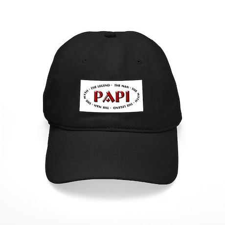 Papi - The legend Black Cap