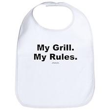 My Grill. My Rules. -  Bib
