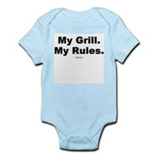 My Grill. My Rules. -  Infant Creeper
