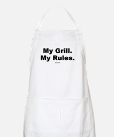 My Grill. My Rules. -  BBQ Apron