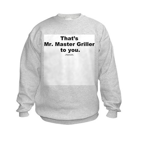 Mr. Master Griller - Kids Sweatshirt