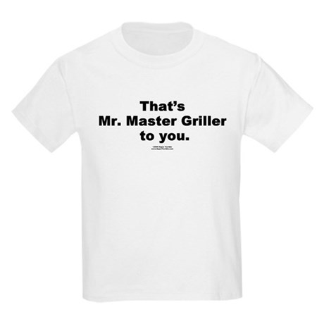 Mr. Master Griller - Kids T-Shirt