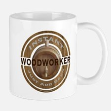 Instant Woodworker Beer Mug