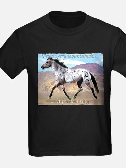 Appaloosa Freedom Ring T-Shirt