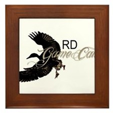 RD Game Calls Framed Tile
