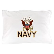 USN Navy Eagle Gold Pillow Case