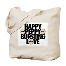 Happy and Peppy - Tote Bag