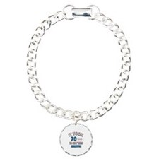 Awesome 70 year old birthday design Bracelet