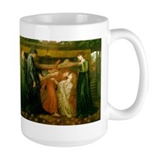 Dantes Dream by Rossetti Mug