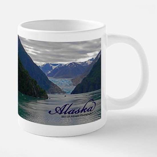 Alaskan Glacier Large Mug Mugs