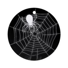 Spiderweb Ornament (Round)