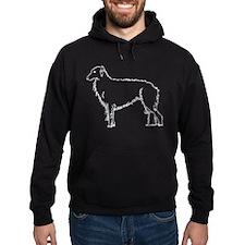 Standing Silken Windhound Ite Hoodie