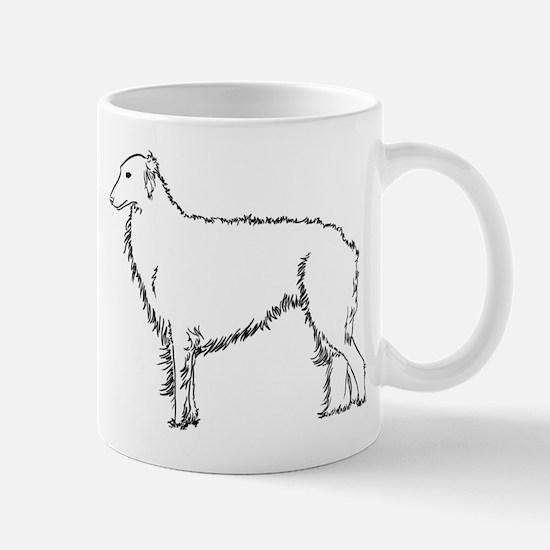 Standing Silken Windhound Ite Mug