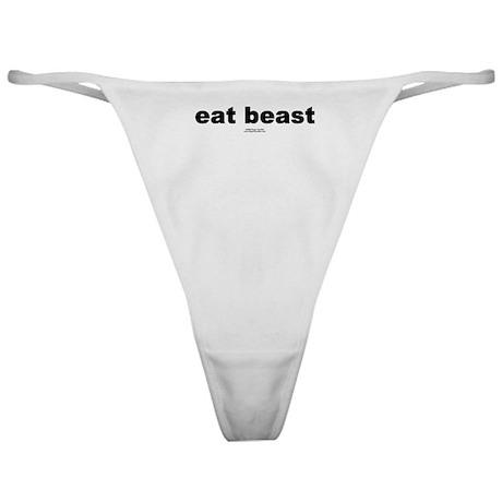 eat beast - Classic Thong