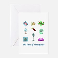 Fans of Menopause Greeting Cards (Pk of 10)
