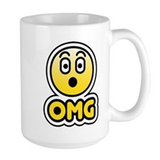 omg bbm smiley Mug