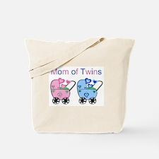 Mom of Twins (Girl & Boy) Tote Bag