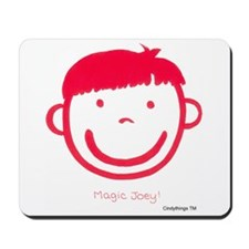 Magic Joey (red) Mousepad