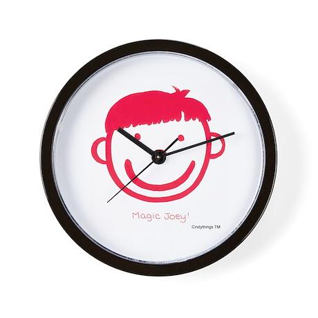 Magic Joey (red) Wall Clock