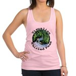 Visualize Whirled Peas Racerback Tank Top