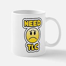 need tlc sad bbm smiley Mug