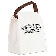 Edmonton Alberta Canvas Lunch Bag