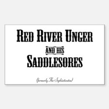 Red River Unger - Rectangle Decal