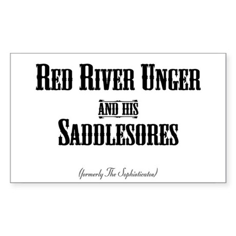 Red River Unger - Rectangle Sticker