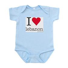 iluvbeirut/lebanon Infant Creeper