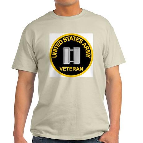 Captain Army Veteran Tee Shirt T-Shirt