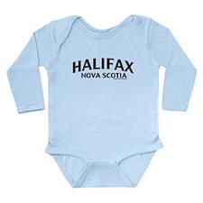 Halifax Nova Scotia Long Sleeve Infant Bodysuit
