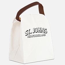 St. Johns Newfoundland Canvas Lunch Bag
