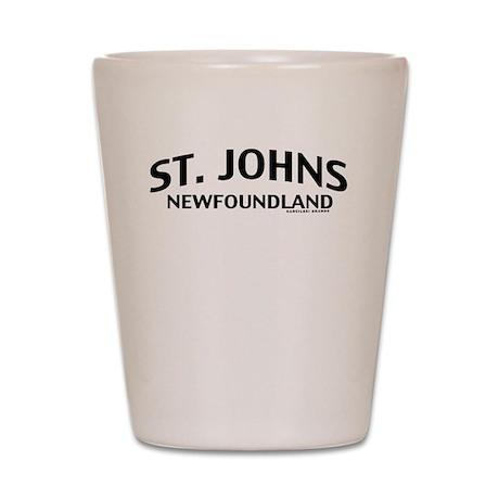 St. Johns Newfoundland Shot Glass