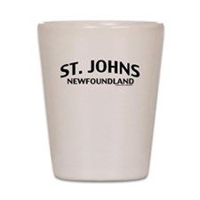 St. Johns Newfoundland Shot Glass