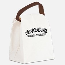 Vancouver British Columbia Canvas Lunch Bag