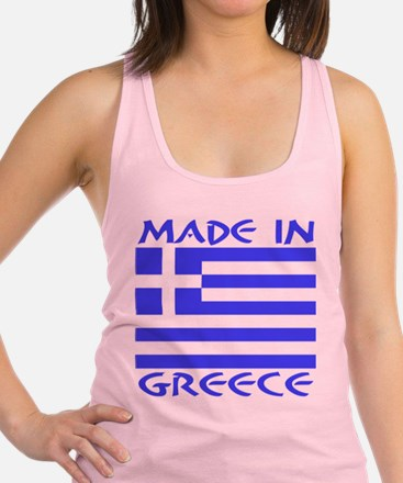 Made in Greece Racerback Tank Top