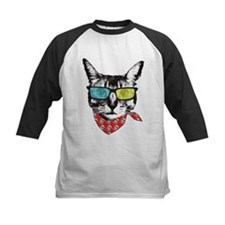 Cat with sunglass Tee