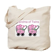 Grandma of Twins (Girls) Tote Bag