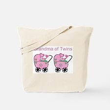Grandma of Twins (Girls) Tote Bag