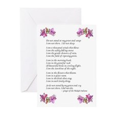 Do Not Weep Greeting Cards (Pk of 10)