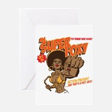 Ms. Super Foxy Greeting Card