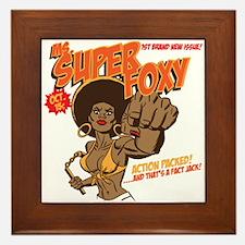 Ms. Super Foxy Framed Tile