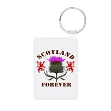 Scotland Forever Thistle Keychains